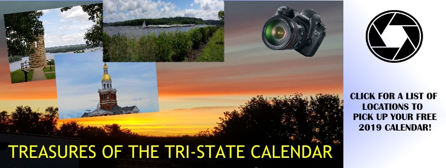 Treasures of the Tri-States Calendar 2019!